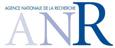 Site Web de l'ANR
